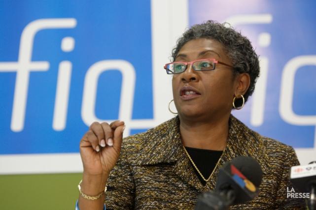 La présidente de la Fédération interprofessionnelle de la... (La Presse)
