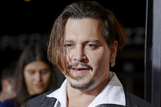 Johnny Depp... (Photo Kevork Djansezian, Reuters)