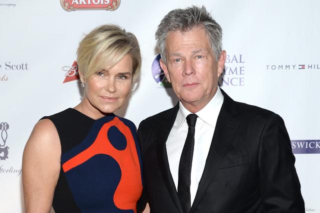 Yolanda et David Foster ont assisté au gala... (Photo Evan Agostini, archives AP)