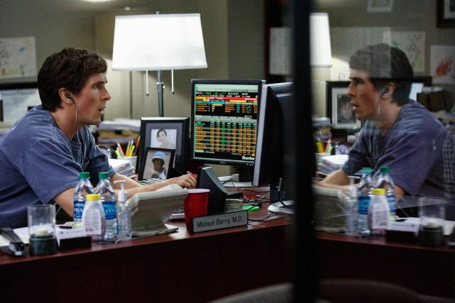 Dans The Big Short d'Adam McKay, Christian Bale incarne... (PHOTO JAAP BUITENDIJK, FOURNIE PAR PARAMOUNT PICTURES)