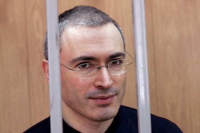 Mikhaïl Khodorkovski, qui a passé près de dix... (PHOTO ARCHIVES REUTERS)