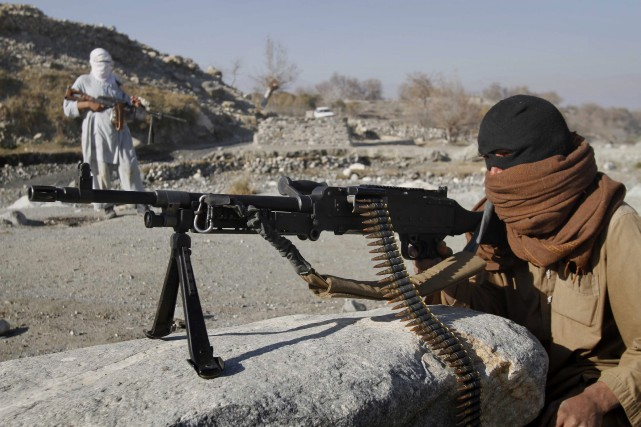 La Russie collabore avec les Talibans (photo) pour... (PHOTO ARCHIVES AP)