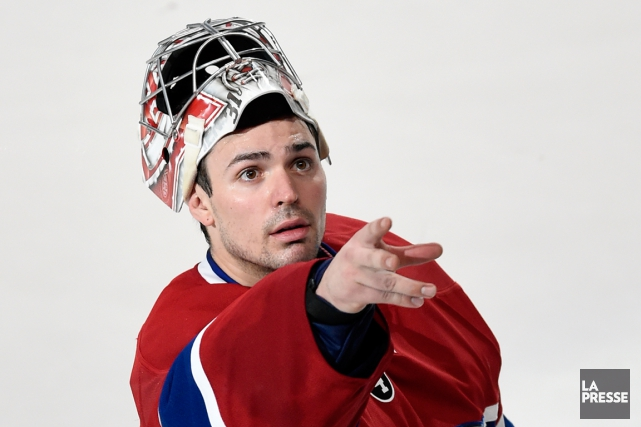 En 2015, Carey Price est devenu le premier gardien... (Photo Bernard Brault, archives La Presse)