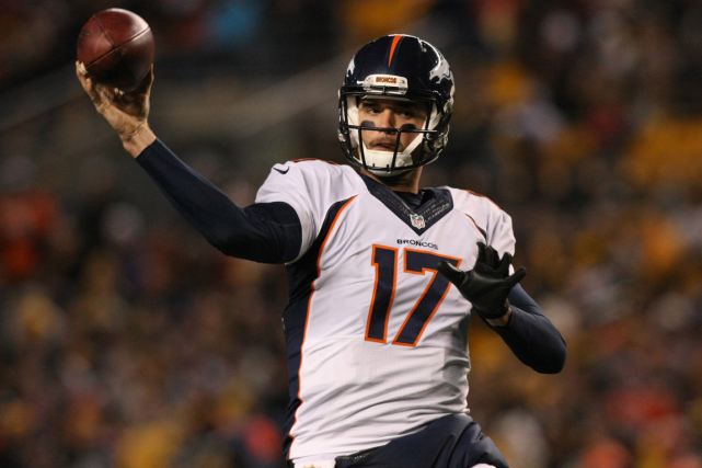 Brock Osweiler... (Photo Jason Bridge, USA Today)
