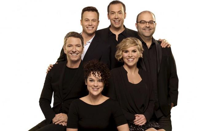 L'équipe du Bye bye 2015 : Patrice L'Écuyer,... (Ici Radio-Canada Télé)