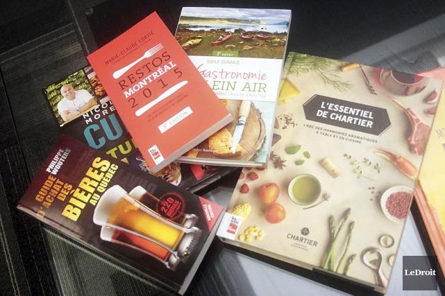 Les livres de cuisine sont toujours parmi les plus appréciés du public, et la... (Etienne Ranger, LeDroit)