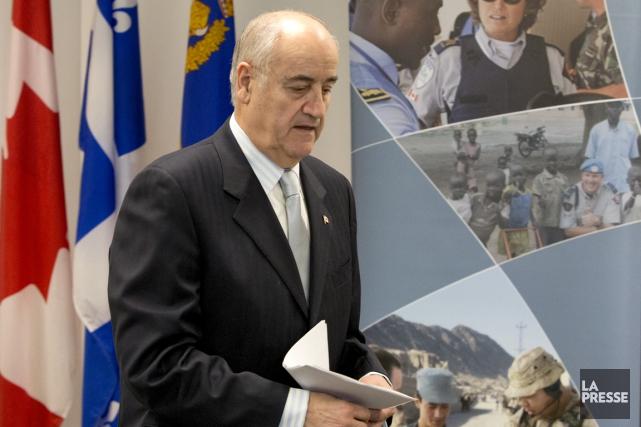 L'ancien ministre fédéral Julian Fantino.... (La Presse)
