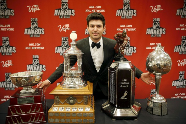 En 2015, Carey Price est devenu le premier... (AP, John Locher)