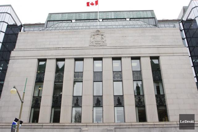La Banque du Canada... (Le Droit)