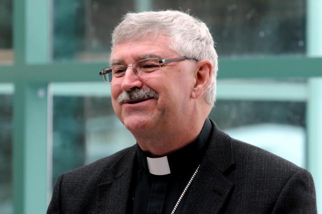 Mgr André Gazaille... (François Gervais)