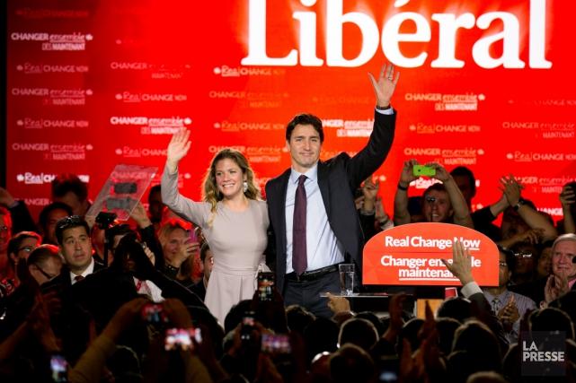 Le 19 octobre, les Canadiens ont élu un... (La Presse)