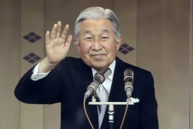L'empereur Akihito du Japon.... (La Presse Canadienne)