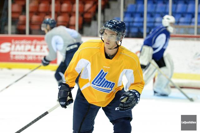 Laurent Dauphin s'acclimate au hockey professionnel avec les... (Archives Le Quotidien)