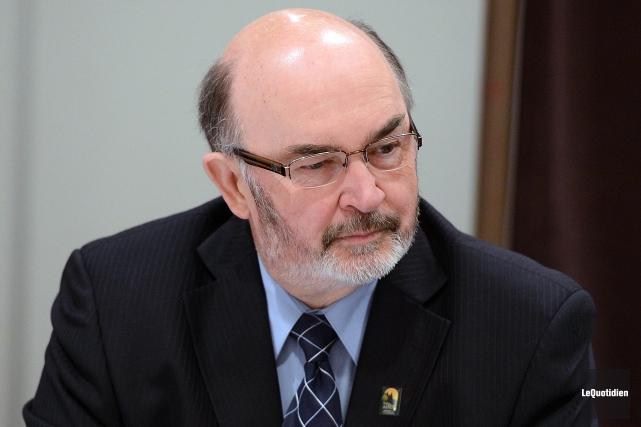 Le préfet de la MRC Maria-Chapdelaine, Jean-Pierre Boivin... (Archives Le Quotidien)