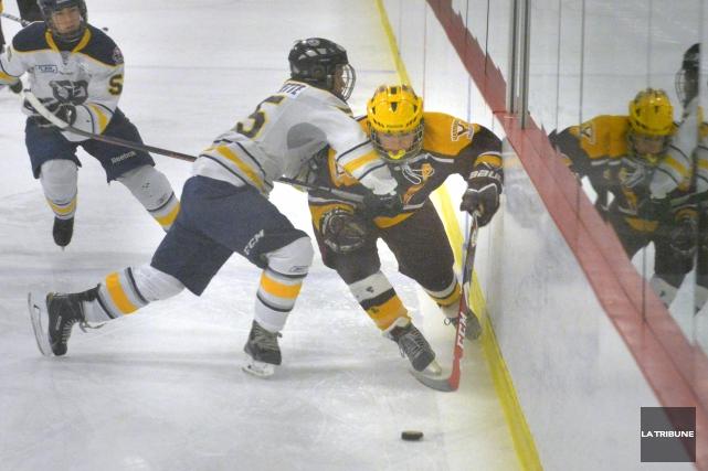 Parmi les principaux changements envisagés, Hockey Québec projette... (Archives, La Tribune)