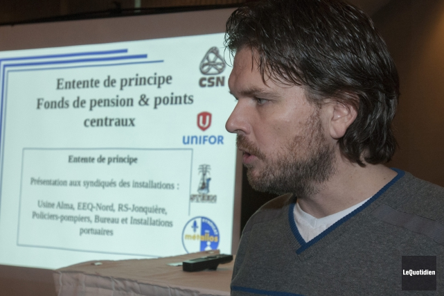 Le président du Local 9490 du syndicat des... (Archives Le Quotidien, Michel Tremblay)
