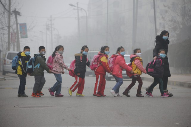 La qualité de l'air en Chine est si... (PHOTO AFP)