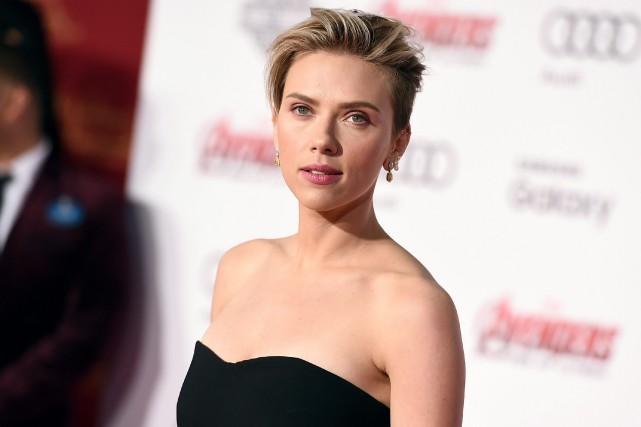 Scarlett Johansson lors de la première du film... (PhotoJordan Strauss, archives associated press)