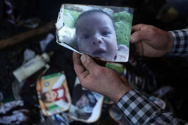 Le bébé de 18 mois, Ali Dawabsheh,a été... (PHOTO JAAFAR ASHTIYEH, ARCHIVES AFP)