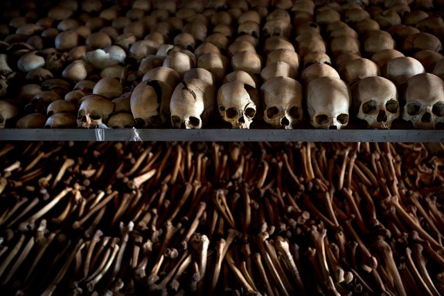 Le génocide au Rwanda, déclenché en avril 1994... (Photo Ben Curtis, archives AP)