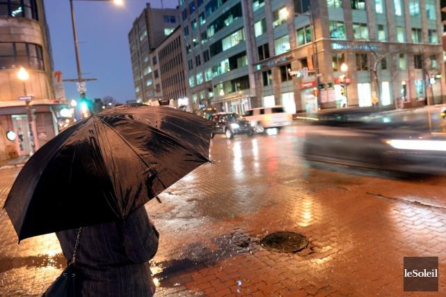 Certaines régions du Québec pourraient recevoir jusqu'à 30... (Photothèque Le Soleil, Eric Labbé)