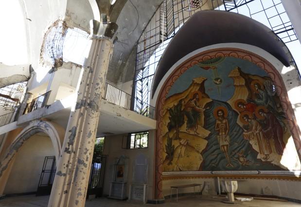 Comme les Syriens aujourd'hui, Jésus a dû fuir... (PHOTO ASSOCIATED PRESS)