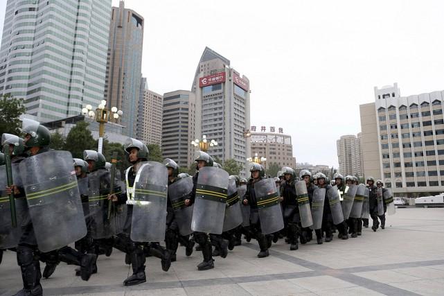 Dans cette photo de juin 2013, une troupe... (Photo Archives Reuters)