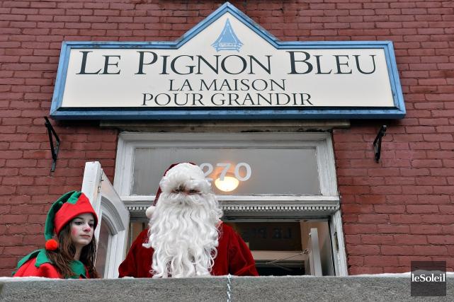 Les dons amassés chaque année, en décembre, par... (Photothèque Le Soleil, Patrice Laroche)