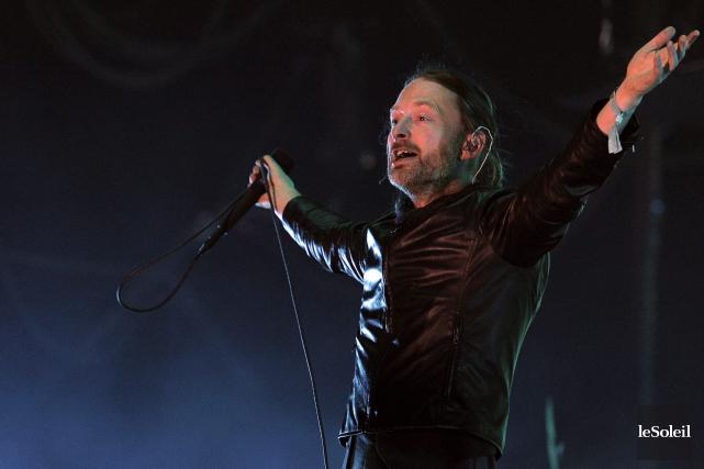 La sortie surprise du titre de Radiohead ne... (Photothèque Le Soleil)
