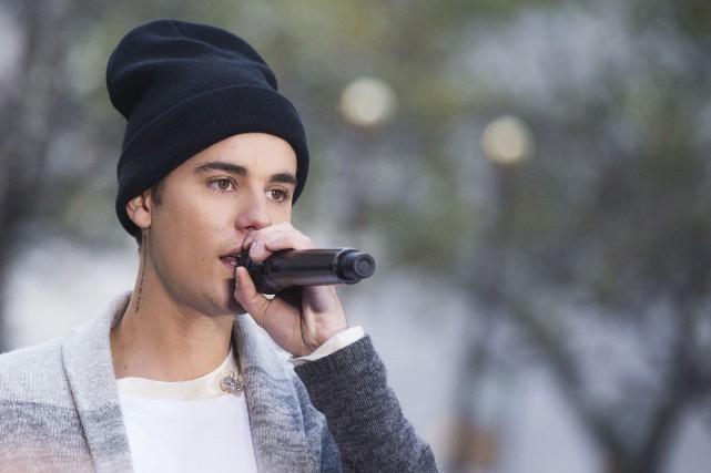 Un choeur de médecins et infirmières a ravi vendredi à Justin Bieber la... (Archives Associated Press)