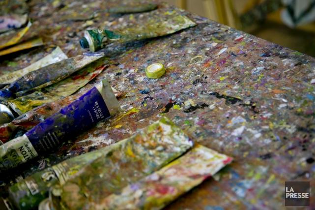 La peintre Claudette Spence devra payer 94$ à... (Archives, La Presse)