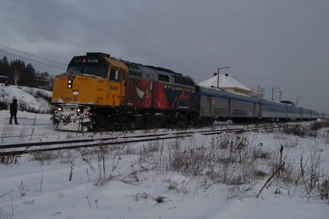 Via Rail a abandonné le service Matapédia-Gaspé parce... (Collaboration spéciale, Gilles Gagné)