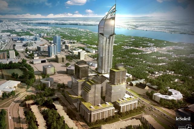 En février, le Groupe Dallaire dévoile son projet... (Photothèque Le Soleil)