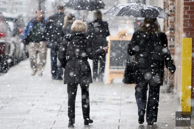 L'hiver reprendra dès samedi soir ses bonnes vieilles... (Simon Séguin-Bertrand, archives LeDroit)