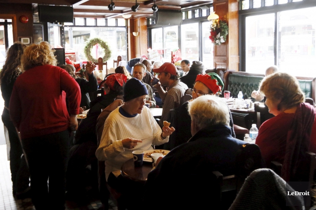 C'est une tradition qui existe depuis plus de 30 ans. Le pub Heart and Crown... (Simon Séguin-Bertrand, LeDroit)