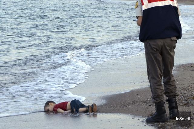 Alan Kurdi, trois ans, avait été trouvé mort... (Photothèque Le Soleil)