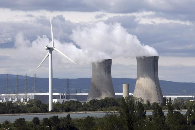 La centrale nucléaire du Tricastin, en France. Le... (AFP)