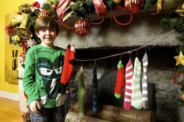 Chaque année pour Noël, le Château Ramezay met... (PHOTO FOURNIE PAR LE CHÂTEAU RAMEZAY)