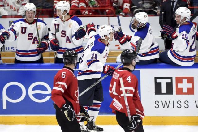 La troisième période du match face aux États-Unis... (Sean Kilpatrick, La Presse Canadienne)