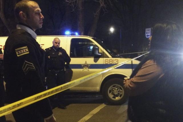 Cette affaire survient alors que la police de... (Photo Megan Crepeau, Chicago Tribune/AP)
