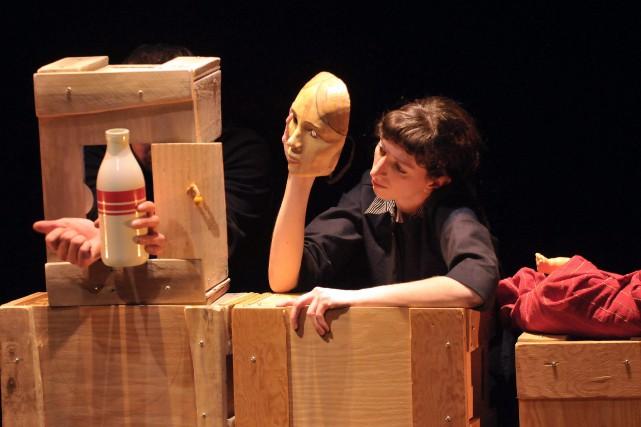Sara Moisan dans Le petit cercle de craie.... (Archives Le Progrès-Dimanche)