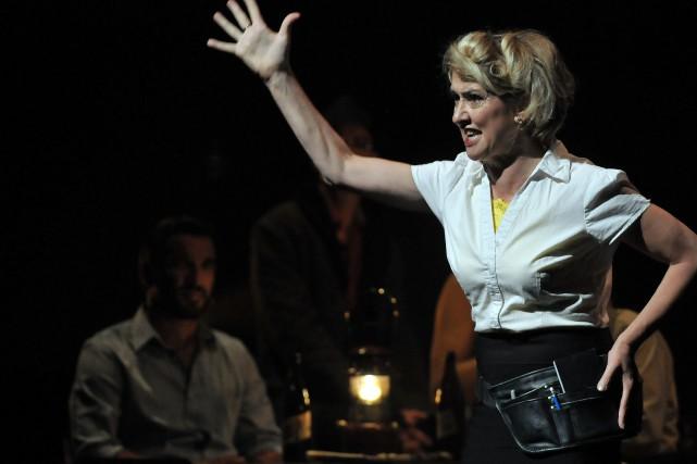 Le Théâtre La Rubrique a connu du succès... (Archives Le Progrès-Dimanche)