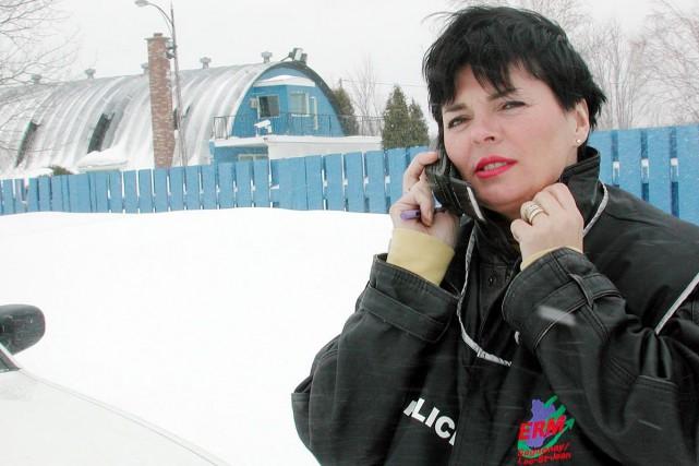 Martine Tremblay (ici photographiée en 2001) a été... (Archives Le Progrès-Dimanche)