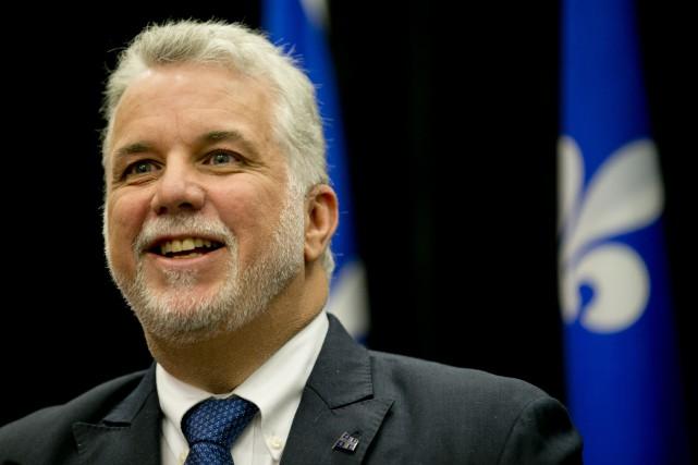 Le premier ministre du Québec, Philippe Couillard...