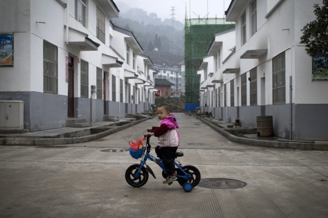 La Chine a introduit la limitation des naissances... (Archives AP)