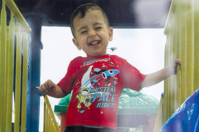 Aylan Kurdi... (PHOTO ARCHIVES LA PRESSE CANADIENNE)