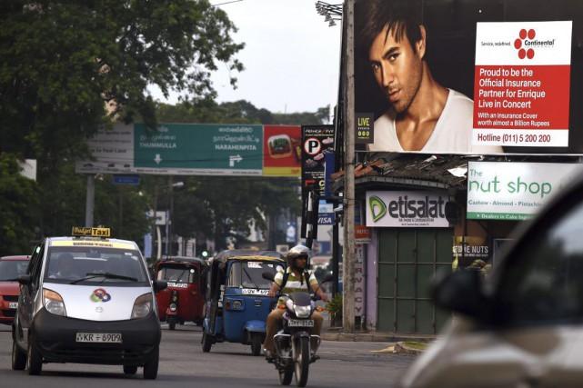 Au Sri Lanka, pays conservateur, les manifestations publiques... (Photo Ishara S.KODIKARA, AFP)
