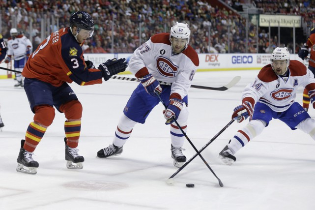 Relisez notre couverture en direct ledumatch entre le Canadien et les Panthers... (Photo Lynne Sladky, archives AP)