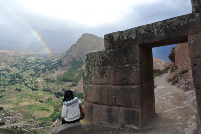 Pisac force l'admiration du visiteur avec son architecture... (Photo David Riendeau, collaboration spéciale)