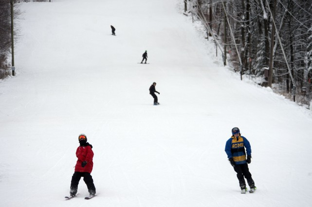 La station de ski Vallée du parc.... (Stéphane Lessard)